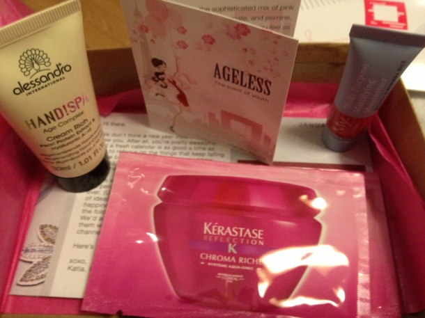 January Birchbox!